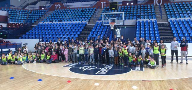 Les actions citoyennes de la Ville de Pau: à la découverte du Basket avec l'Élan Béarnais
