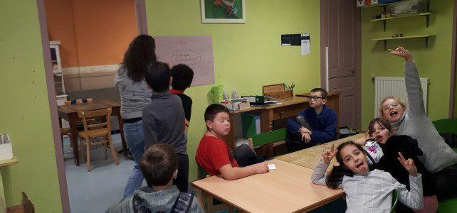Le CLAS a commencé et s'installe au Jardin de Toni