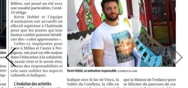 L'été du Secteur Jeunes, La république des Pyrénées