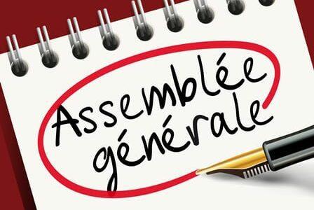 ASSEMBLEE GENERALE DE L'ASSOCIATION Vendredi 18 Décembre – 18h00