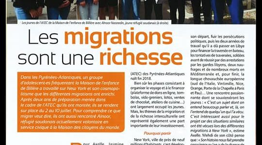 Les migrations sont une richesse.